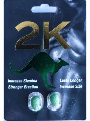 2K Kangaroo Green Pill Male Enhancements Double Pack