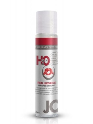 JO H2O Red Licorice Flavered Lubricant 1 fl.oz/ 30ml Travel Size