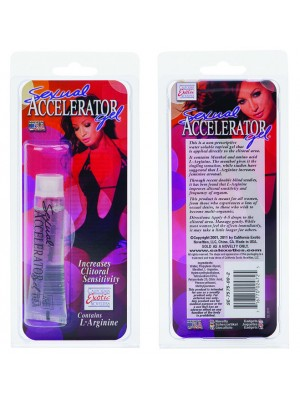 Sexual Accelerator Gel for Her Increase Clitoral Sensitivity - Arousal
