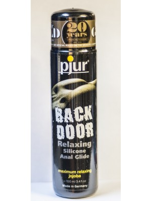 Pjur Back Door Relaxing Silicone Anal Glide 3.4 FL.Oz