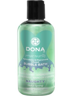 Dona Aphrodisiac & Pheromone Infused Bubble Bath Sinful Spring 8 oz