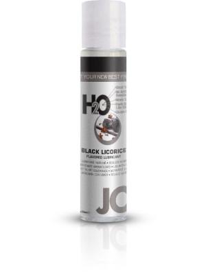 Jo H2O Black Licorice Flavered Lubricant 1 fl.oz/ 30ml Travel Size