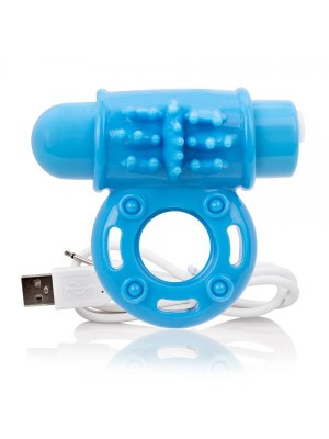 Charged Owow Vibe Ring Blue ScreamingO