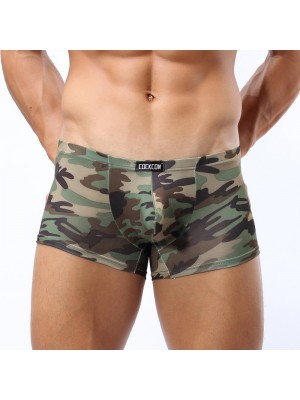 Camo Boxers with U-band style  Romeo Whispers