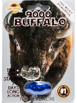 Buffalo 9000 Male Enhancement pill 7 Days Action