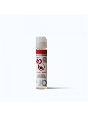 Jo H2O Juicy Cherry Burst Lick Lubricant 1 fl.oz/ 30ml Travel Size