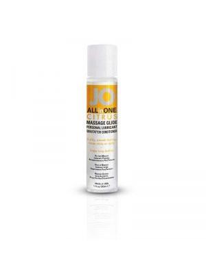 JO All In One Citrus Massage Glide Personal Lubricant 1 fl.oz /30ml