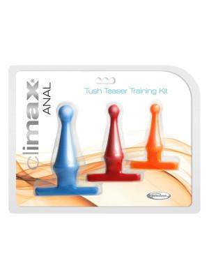 Climax Anal Tush Teaser Training Kit Neon