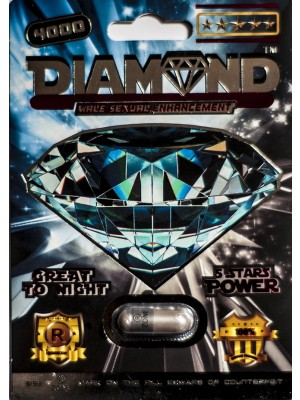 Diamond 4000 5 Stars Power Male Sexual Enhancement Pill