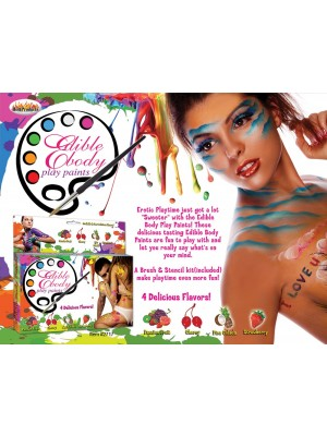 Edible Body Paints Four Flavors