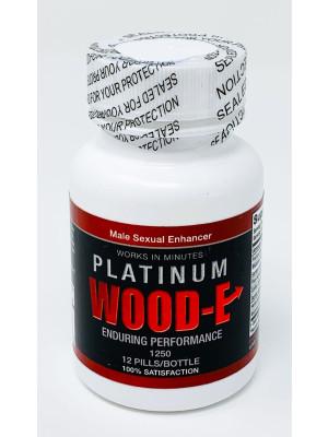 Platinum Wood-E 1250 Male Sexual Pill 12 Pills Bottle