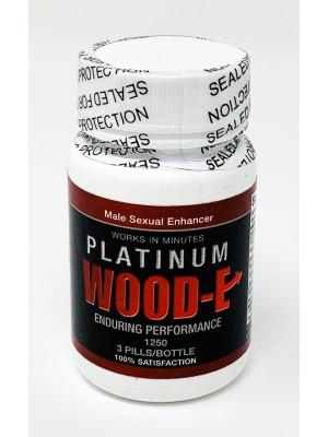 Platinum Wood-E 1250 Male Sexual Pill 3 Counts Bottle