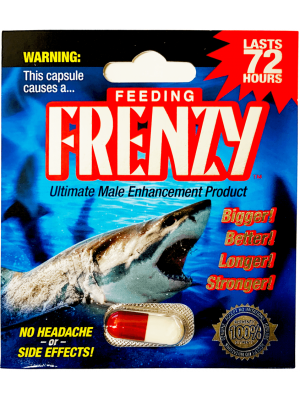Feeding Frenzy 3500mg Ultimate Male Enhancement Pill front