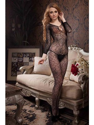 Lady's Keller Legs Fishnet Body Stocking 818JT056 Yelete Group Lingerie