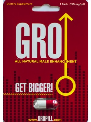 GRO Get Bigger All Natural Enhancement Pill