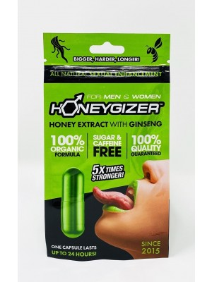 Organic Honeygizer Male Female Enhancement Green Pills