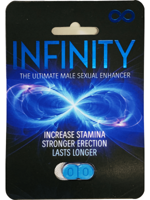 Blue Infinity The Ultimate Male Sexual Blue Pill front