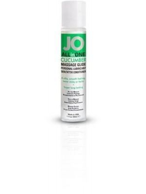 Jo All In One Cucumber Lubricant 1 fl.oz/ 30ml Travel Size
