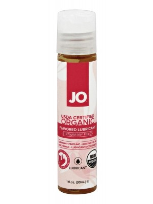 System Jo Certified Organic Flavored Lubricant Strawberry Fields 1 Oz