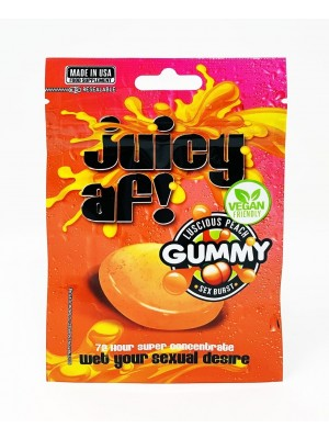 Juicy AF Female Enhancer Gummy Vegan Friendly 3500mg