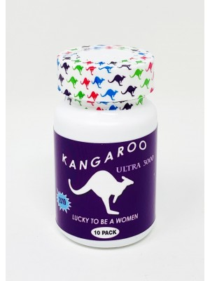 Kangaroo Ultra 3000 For Her Lucky To Be A Woman Bottle