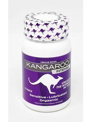 Kangaroo Venus 3000 For Her Lucky To Be A Woman 12 Pills