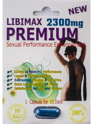 Libimax Premium 2300mg Sexual Performance Enhancement for Men 24 Pills