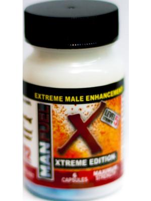Man Fuel Extreme Male Enhancement 6 Pill Bottle
