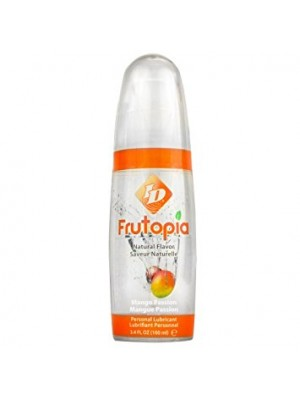 Personal Lubricant Natural Flavor Mango Passion ID Frutopia 3.4 oz