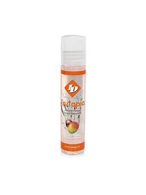 ID Frutopia Personal Lubricant Natural Flavor Mango Passion 1 oz