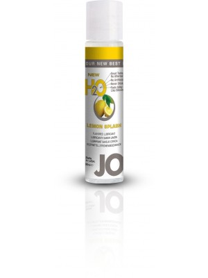 Jo H2O Lemon Splash Lubricant 1 fl.oz/ 30ml Travel Size