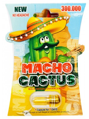 New Macho Cactus 300000 Gold Pill Male Sexual Enhancement