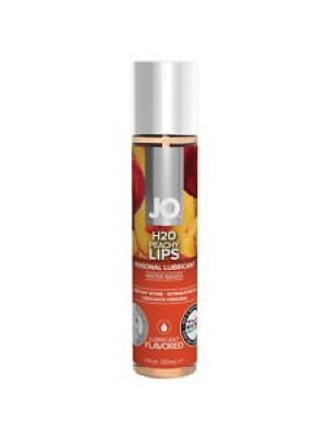 Jo H2O Peachy Lips Lick Lubricant 1 fl.oz/ 30ml Travel Size