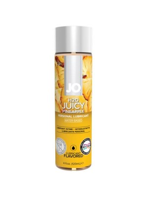 Jo H2O Juicy Pineapple Flavored Personal Water Based Lubricant 4 Oz