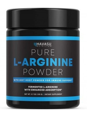 Havasu Nutrition Extra Strength L-Arginine Pre Workout Powder 3.7oz