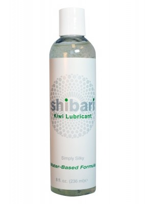 Shibari Kiwi Water based Lubricant Natural Extract 8Oz