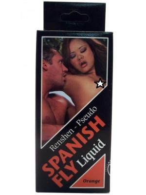 Spanish Fly Drops Orange Aphrodisiac 1fl Pheromone Booster