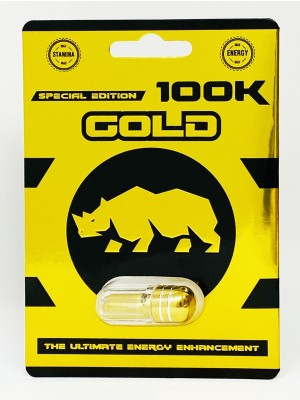 Gold Rhino 100K Male Enhancement Pill Special Edition