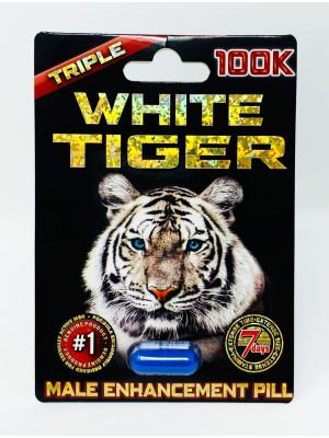White Tiger 100K Triple Male Performance Enhancement