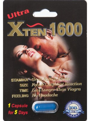 Ultra Xten 1600mg Male enhancement Pill by Xalix Nutraceuticals