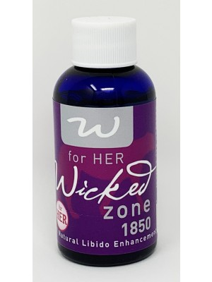 Wicked Zone 1850 Shot 1 Oz For Her Libido Natural Enhancement