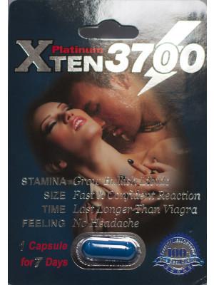 XTEN 3700 Platinum Male Enhancement Capsule Sexual Stimulant 1 Capsule