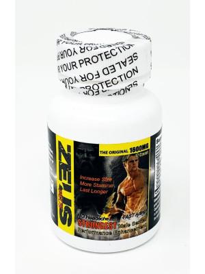 Zeus 1600mg Male Enhancement 12 Count Bottle Pill