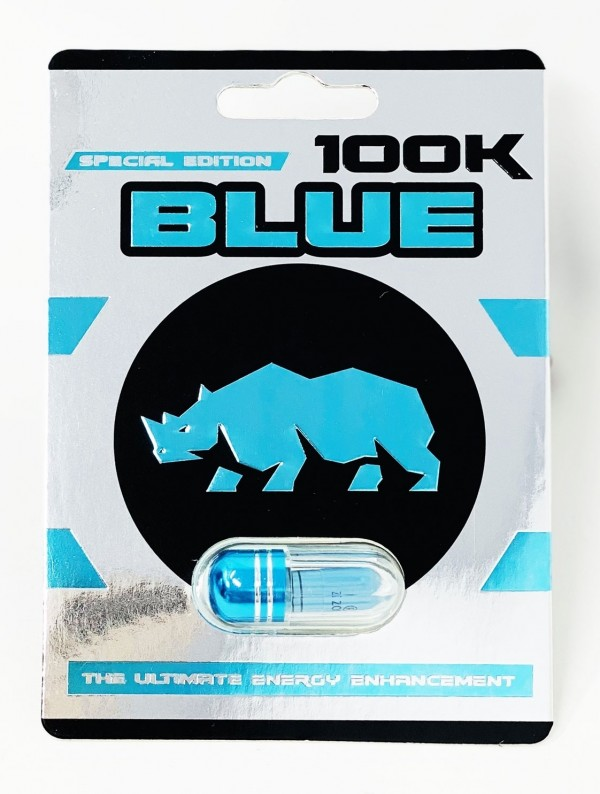 Blue Rhino 100K Male Enhancement Pill Special Edition One