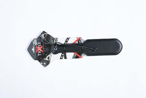Leather Paddle Triple X 12009