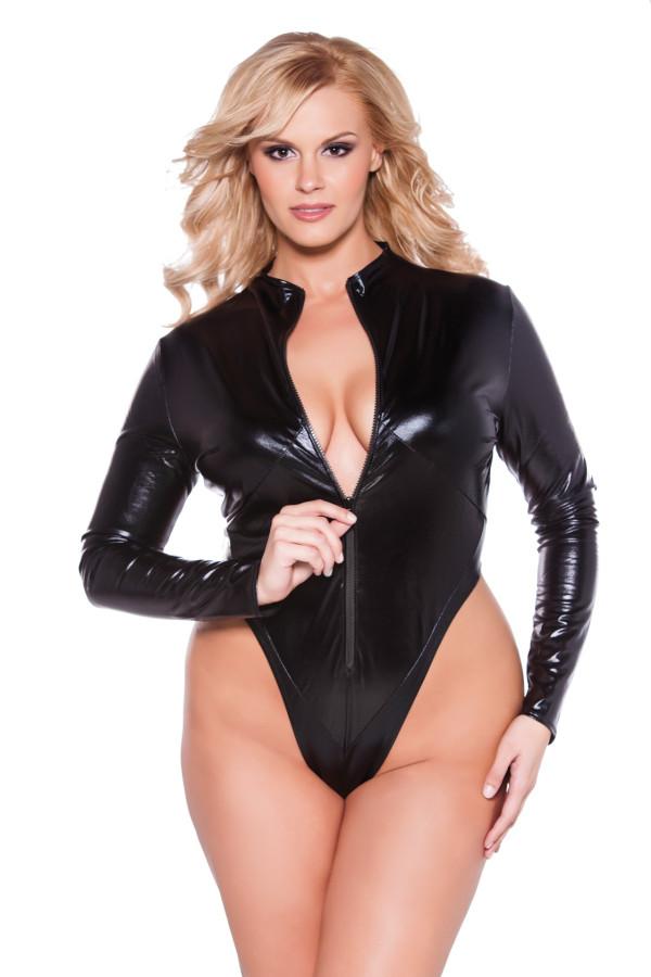 Naughty Kitten Bodysuit Kitten Plus 4-1302XK