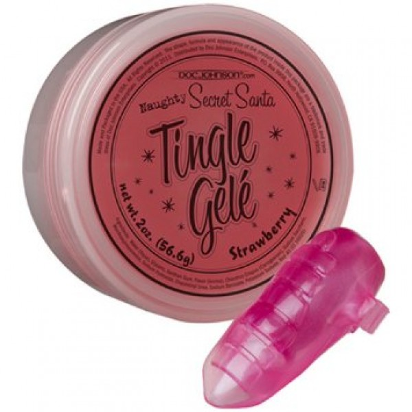 Secret Santa Tingle Gele-Strawberry