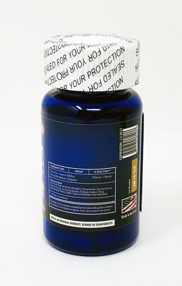 Alpha Man Extreme 3000 Bottle 6 Count Capsule
