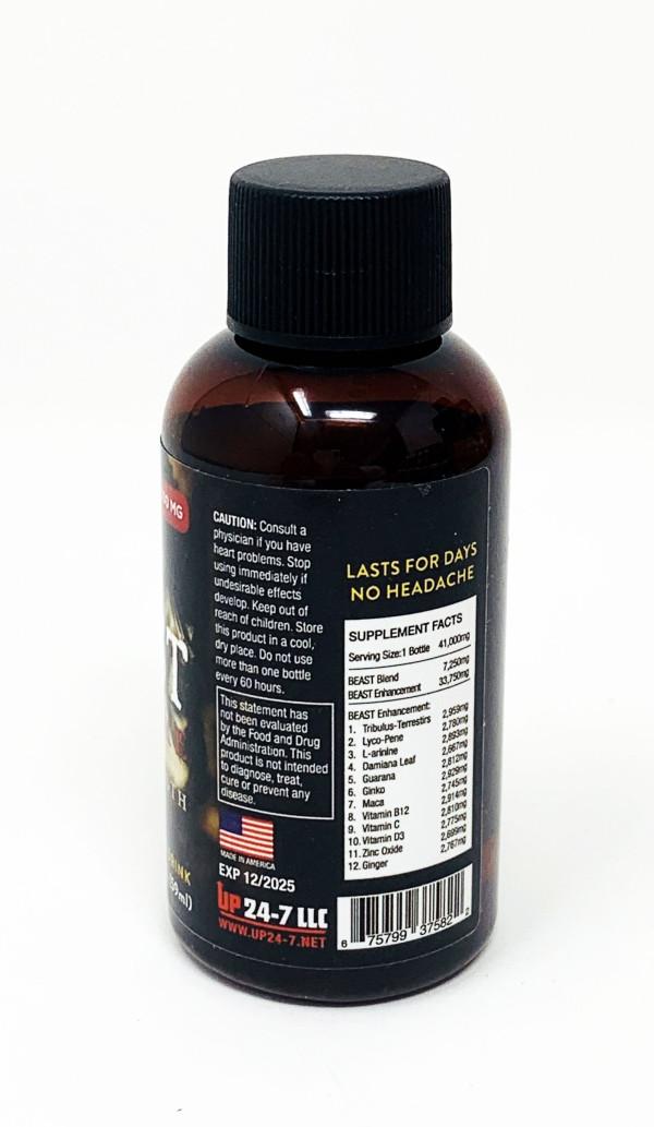 Beast 41000mg Male Enhancement 2 Fl Oz Liquid