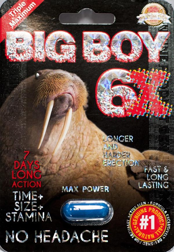 Big Boy 6X Max Power 7 Days Enhancement for Men 1 Pill